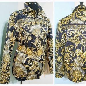 DIANE FREIS' OWN Vintage 1980s BAROQUE Jacket Coat